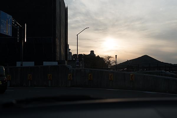 道行き犬山城