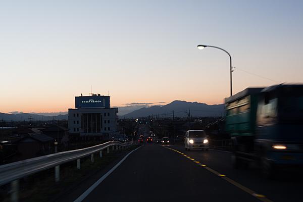 濃尾大橋を過ぎて
