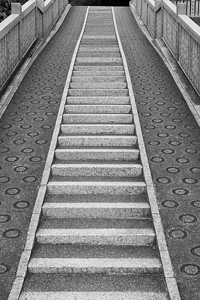 モノクロ階段