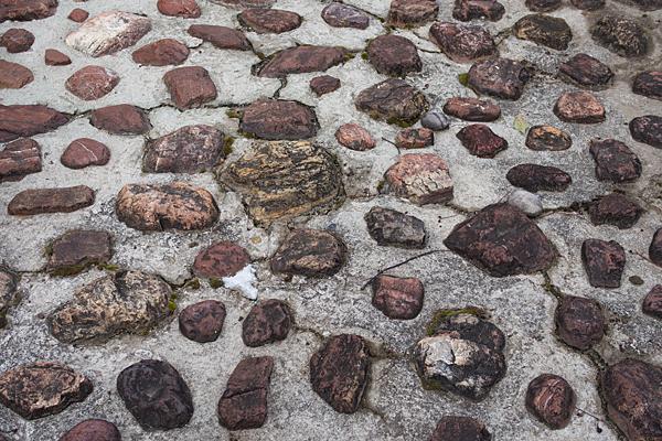 石とセメント