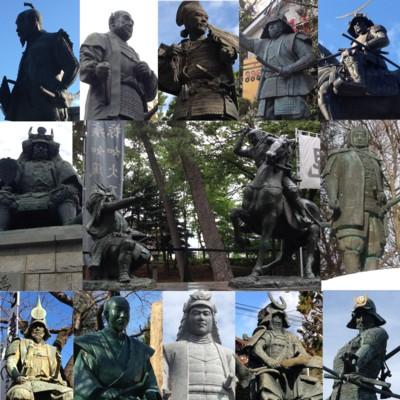 戦国武将銅像1