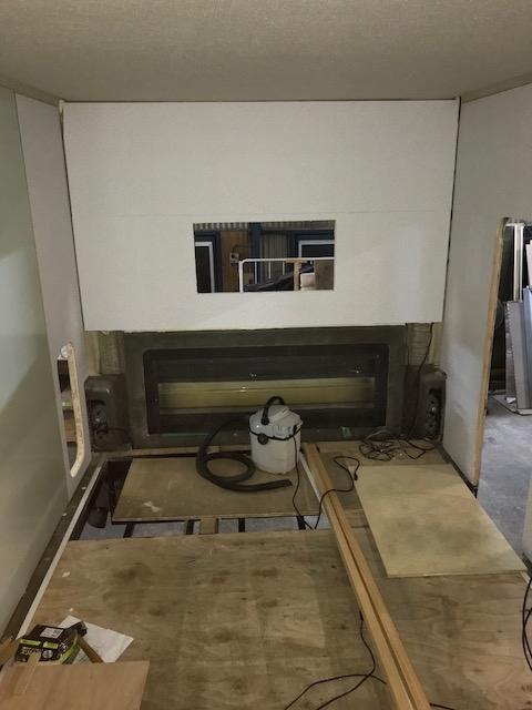 二重床後側設置