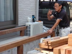 (ウリン材を利用した拘りのウッドデッキ工事中継 神奈川県横浜市鶴見区B邸の様子を継続的にご覧になりたい方は、当ブログカテゴリー 「ウリン材を利用した拘りのウッドデッキ工事中継  ー 神奈川県横浜市鶴見