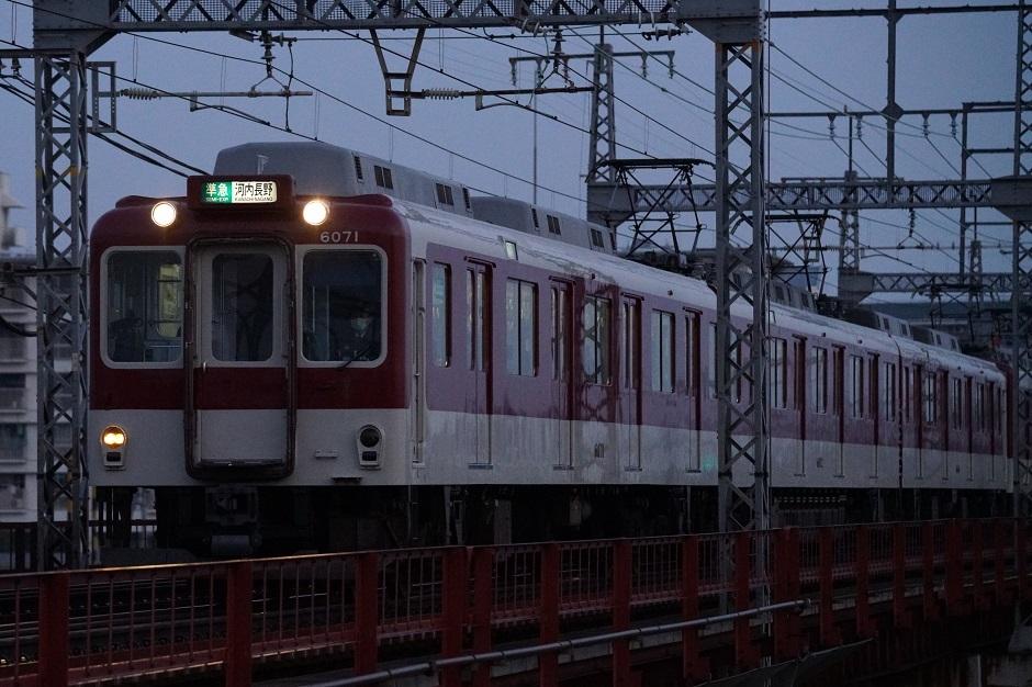 近鉄南大阪線準急河内長野607120190207DSC09274 (1)s