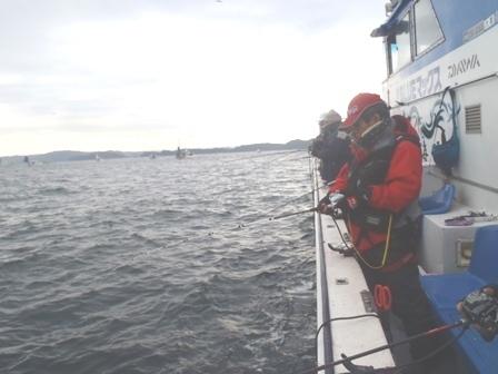 ブルーマックスの船中釣り風景不ログ用