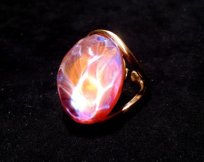 ガラス・指輪・OrangeMarmalade