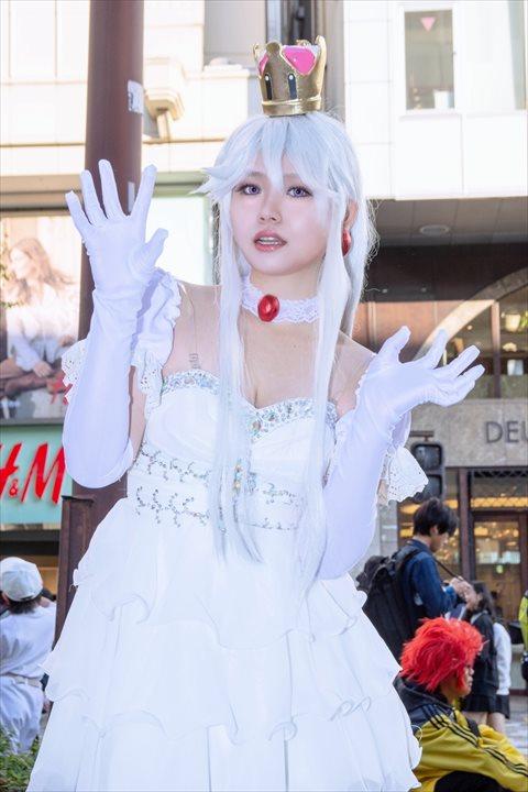 キングテレサ姫 林檎飴 コスプレ 3