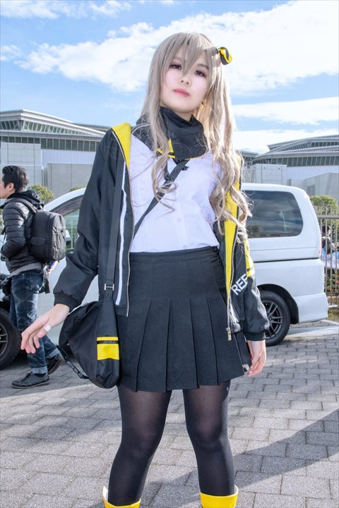 ドルフロ UMP45 光桜 コスプレ 3