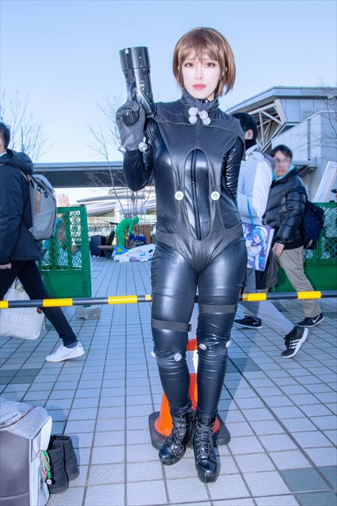 GANTZ 岸本恵 爽々 コスプレ 1