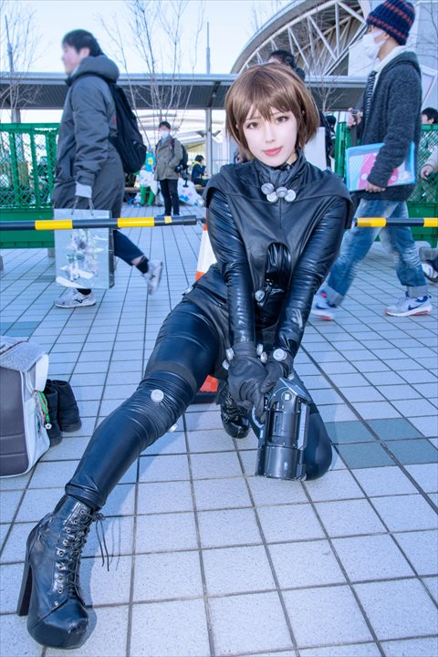 GANTZ 岸本恵 爽々 コスプレ 8