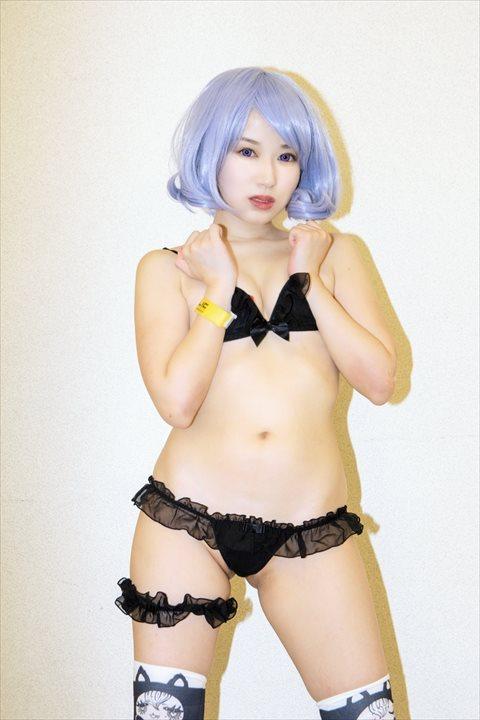 朱志香 シフォンフリルノンワイヤーブラ 超ローライズシフォンリボンTバックパンツ 2