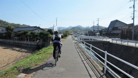 しまなみ海道は、海だけでは無く里山っぽい所もあるんですよね。