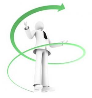 円錐螺旋型回顧的学習法」