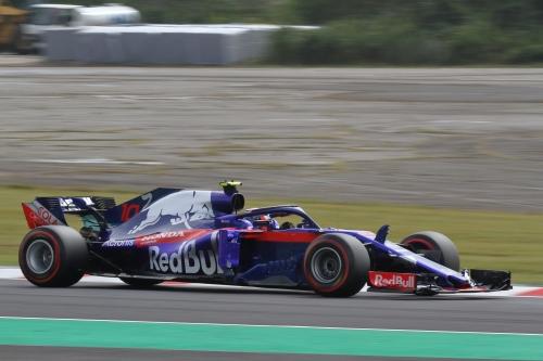 2018F1日本GP トロロッソ・ホンダ ガスリー