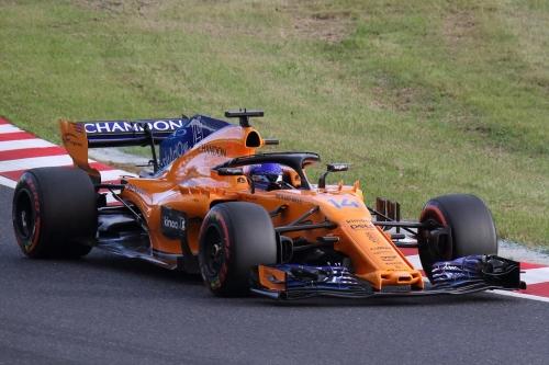 2018F1日本GP マクラーレン アロンソ