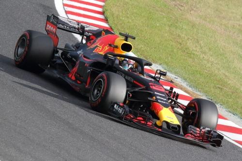 2018F1日本GP レッドブル リカルド