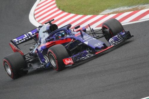 2018F1日本GP トロロッソ・ホンダ ハートレー