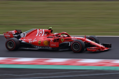 2018F1日本GP フェラーリ ライコネン