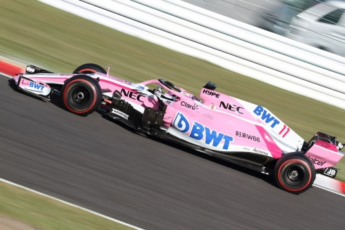 2018F1日本GP決勝 フォースインディア ペレス