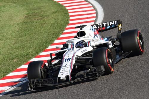 2018F1日本GP決勝 ウィリアムズ ストロール