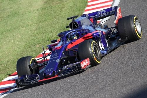 2018F1日本GP決勝 トロロッソ・ホンダ ハートレー