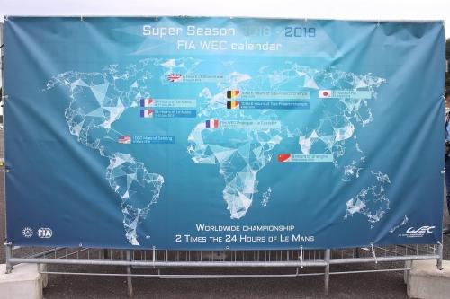 Super Season 2018-2019 FIA WEC calendar