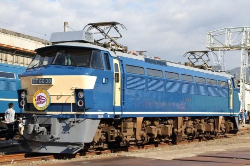 第25回JR貨物フェスティバル 広島車両所公開 EF66 30