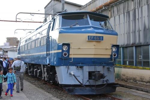 第25回JR貨物フェスティバル 広島車両所公開 EF66 1