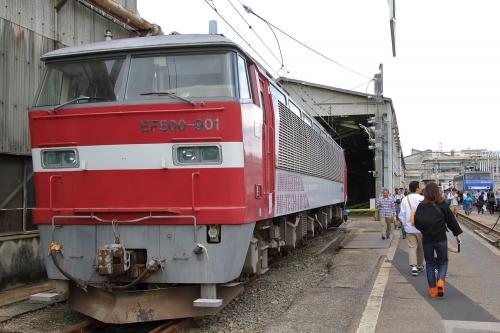第25回JR貨物フェスティバル 広島車両所公開 EF500-901+EF200-10