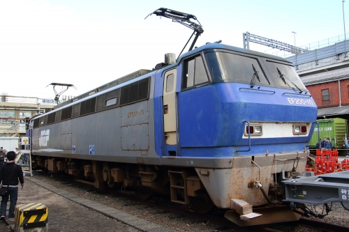 第25回JR貨物フェスティバル 広島車両所公開 EF200-10