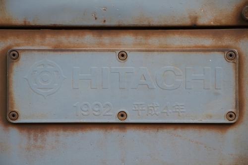 第25回JR貨物フェスティバル 広島車両所公開 EF200-10 製造者銘板