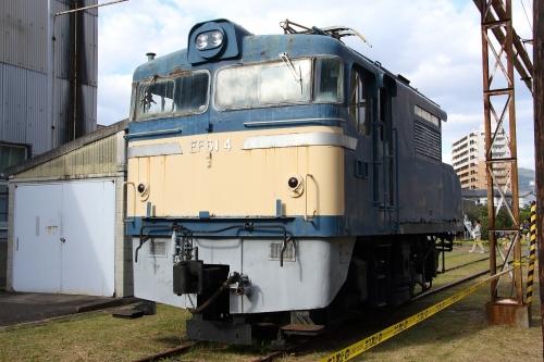 第25回JR貨物フェスティバル 広島車両所公開 EF61 4