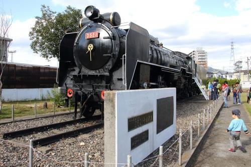 第25回JR貨物フェスティバル 広島車両所公開 D52 1