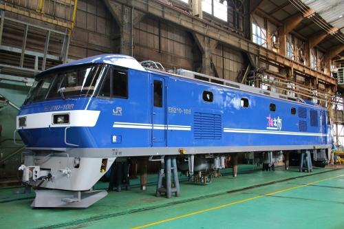 第25回JR貨物フェスティバル 広島車両所公開 EF210-108