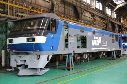 第25回JR貨物フェスティバル 広島車両所公開 EF210-164