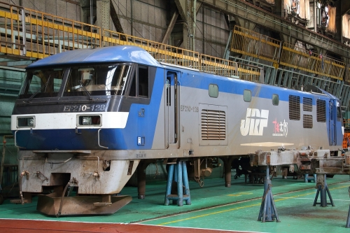第25回JR貨物フェスティバル 広島車両所公開 EF210-128