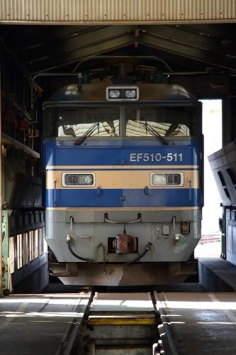 第25回JR貨物フェスティバル 広島車両所公開 EF510-511