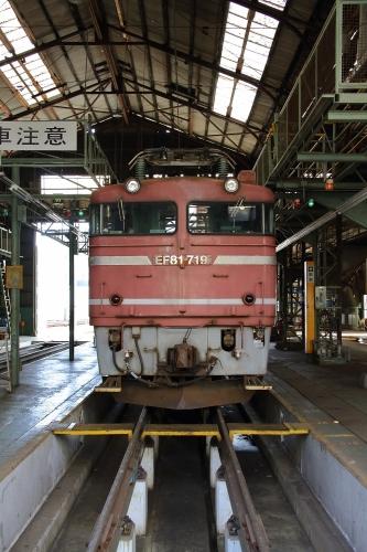 第25回JR貨物フェスティバル 広島車両所公開 EF81 719