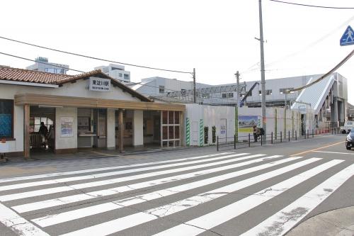 JR東淀川駅地上駅舎と橋上駅舎 2018.11.10