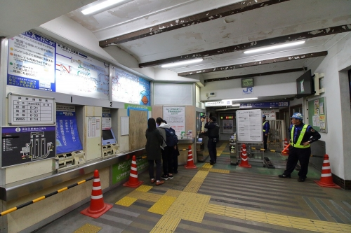 JR東淀川駅地上駅舎東改札口 2018.11.10