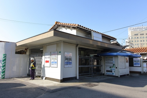 JR東淀川駅旧駅舎 2018.11.11