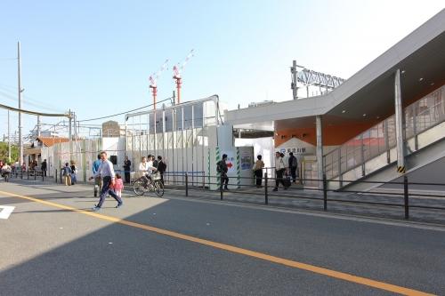JR東淀川駅新・旧駅舎 2018.11.11