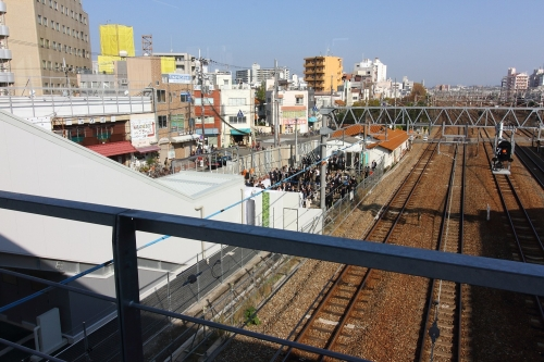 JR東淀川駅橋上駅舎開業記念式典 2018.11.11
