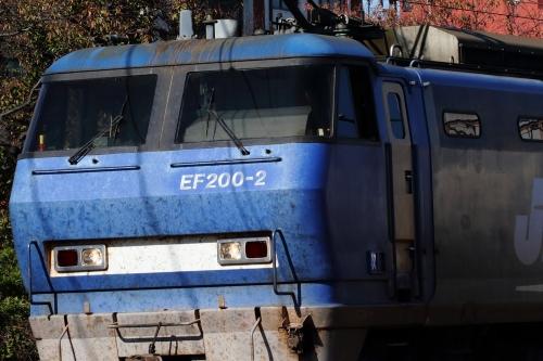 EF200-2代走 2081レ 東淀川駅