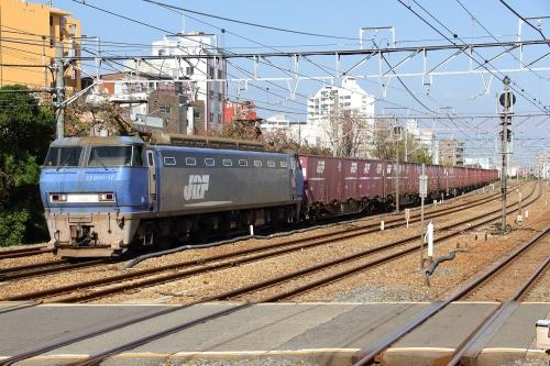 EF200-17代走 2081レ 東淀川駅