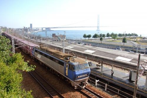 EF200-17代走 2081レ 朝霧駅