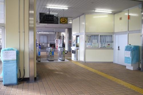 愛知環状鉄道中岡崎駅 改札口