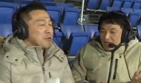 20181125_1有明放送局_近藤祐司さんと河口正史さんの画像