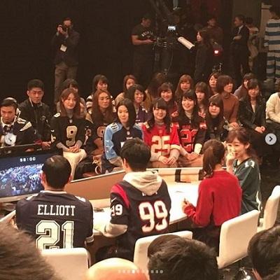 20190113(岩田アナの横顔)オードリーのNFL俱楽部公開収録の画像