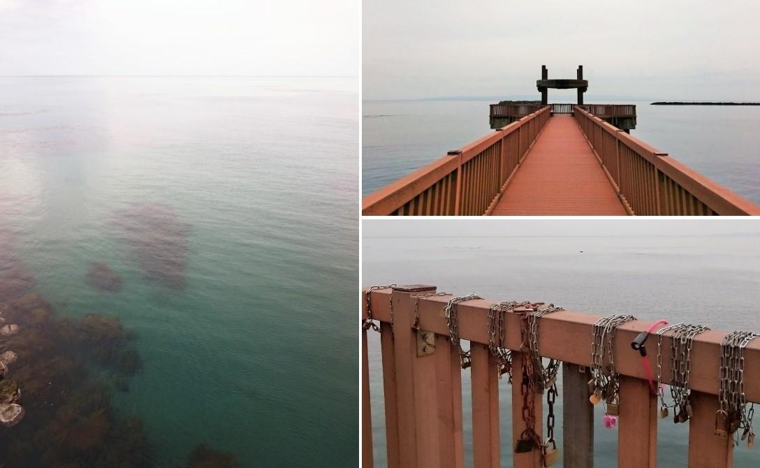 181203海の桟橋